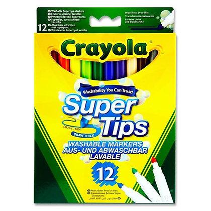 Crayola Super Tips 12pk