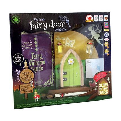 Irish Fairy Door - Glow in the Dark Yellow