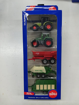 Siku Farm Machinery 5pk Gift Set 1:87 Scale