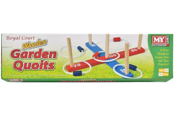Wooden Garden Quoits