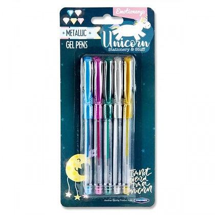 Unicorn Gel Pens 5pk