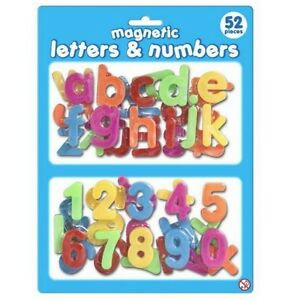 Magnetic Letters & Numbers 52pc