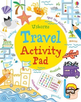 Usborne Travel Activity Pad