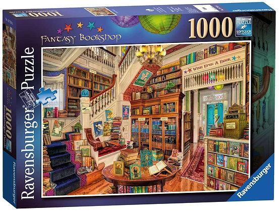 Fantasy Bookshop - 1000pc - Ravensburger 19799