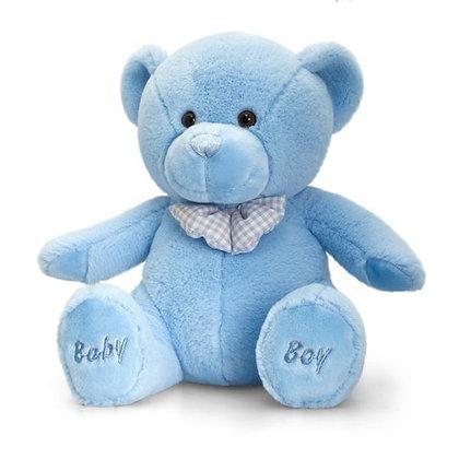 Keel 35cm Baby Boy Bear Blue