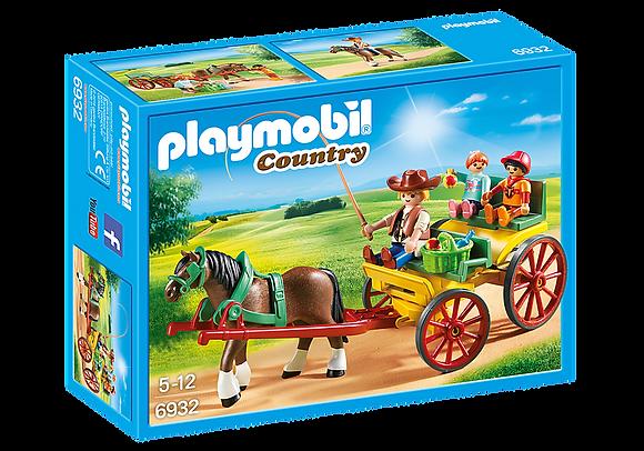 Playmobil Country - Horse Drawn Wagon - 6932