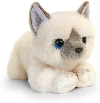 Cuddle Kitten White 25cm