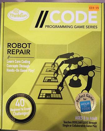 //CODE: Robot Repair