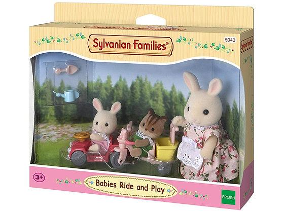 Sylvanian Families - Babies Ride and Play - 5040