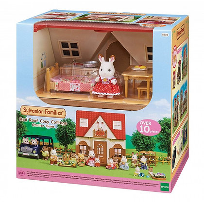 Sylvanian Families - Red Roof Cosy Cottage - 5303