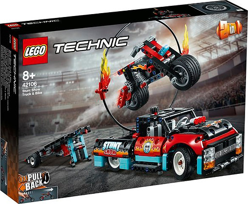 TECHNIC - Stunt Show Truck and Bike - 42106
