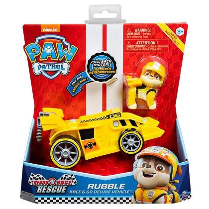 Race & Go Deluxe Vehicle - Rubble - Paw Patrol