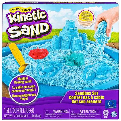 Kinetic Sand Sandbox Set Blue