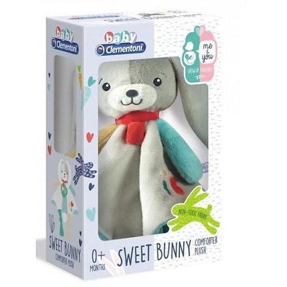 Baby Clementoni Sweet Bunny Plush Comforter