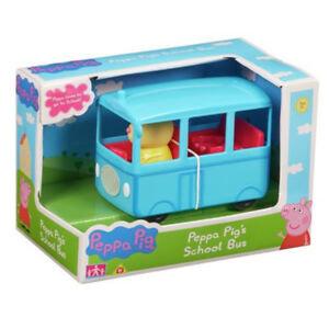 Peppa Pig Mini Vehicle - School Bus