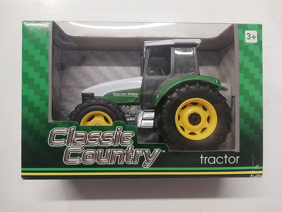 Classic Country Green Tractor