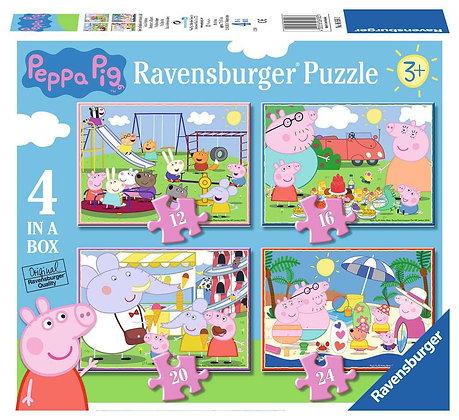 Peppa Pig - 4 in a Box - Ravensburger 6958