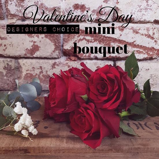 Valentine's Mini Bouquet