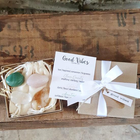 Good Vibes Crystal Kit