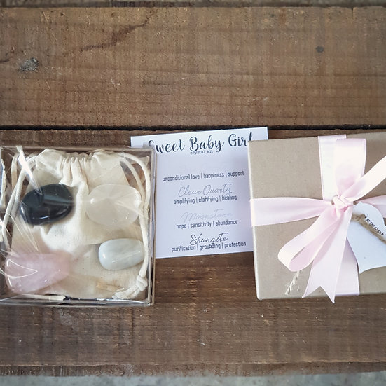 Sweet Baby Girl Crystal Kit