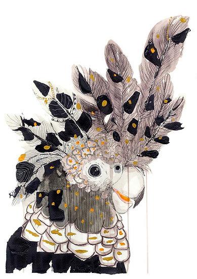 Grotti Lotti Card - Spirit Bird