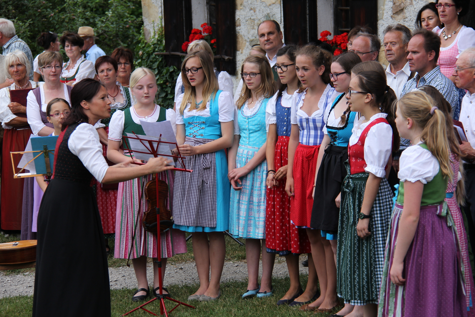 Hoangarten 2014 - Musikschule