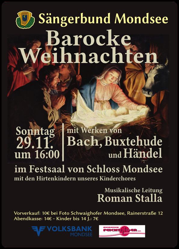 Plakat Adventkonzert 2015