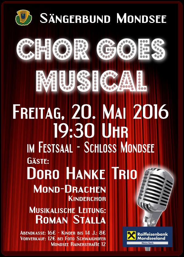 Plakat Musicalkonzert