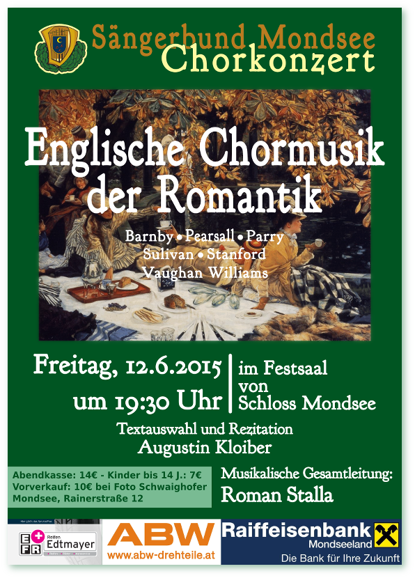 Plakat Sommerkonzert 2015