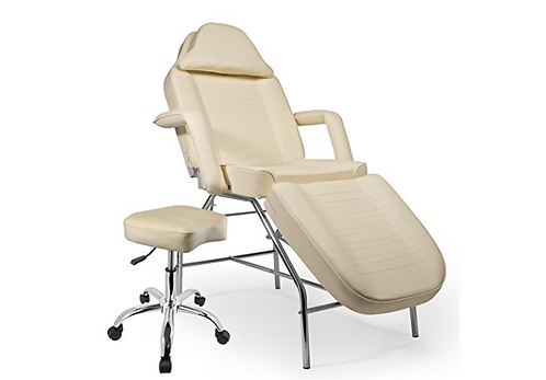 Professional Multi-purpose Salon Chair / Massage Table with Adjustable Stool