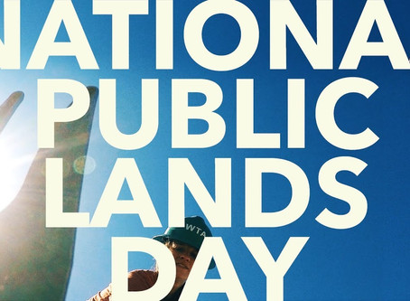 Happy National Public Lands Day!