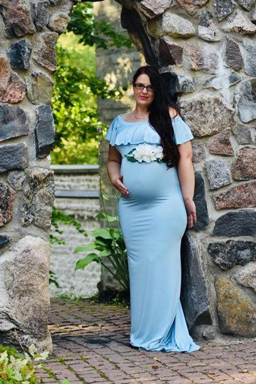 Helesinine pildistamise kleit