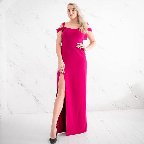 Tumeroosa maani kleit