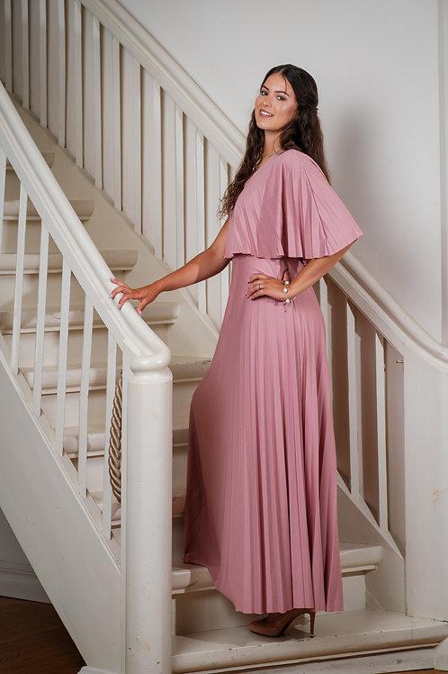 Heleroosa plissee maani kleit