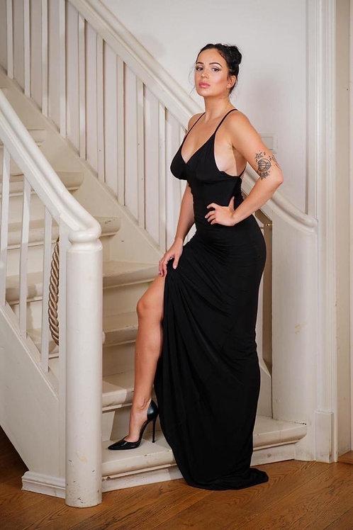 Must maani liibuv kleit