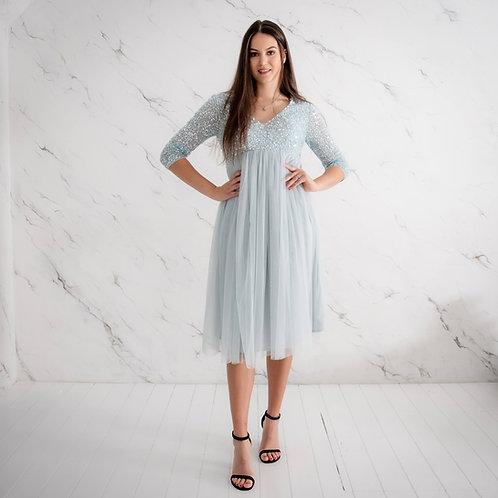 Heleroheline litritega kleit