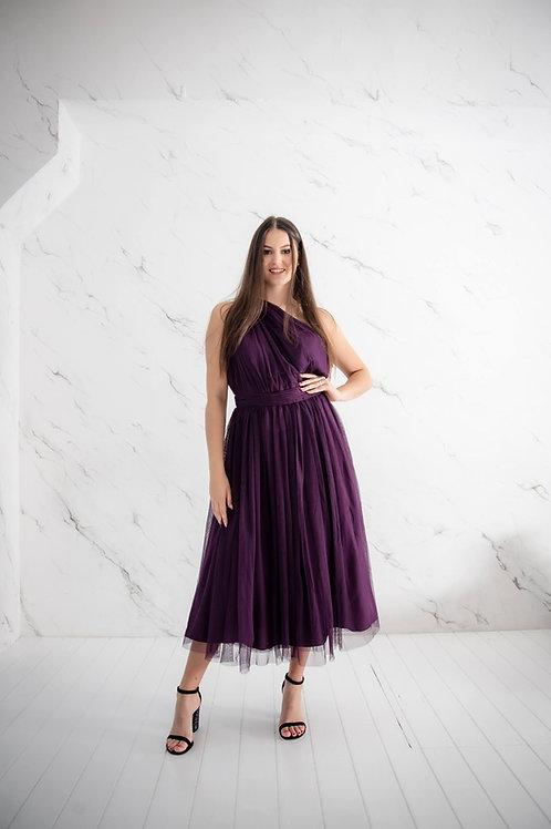 Lilla tüllist kleit