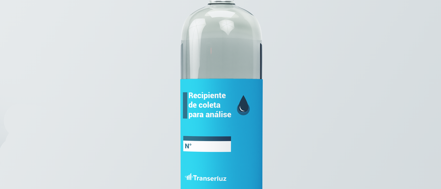 VIDRO DE COLETA TRANSERLUZ