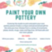 Paint your own pottery AL