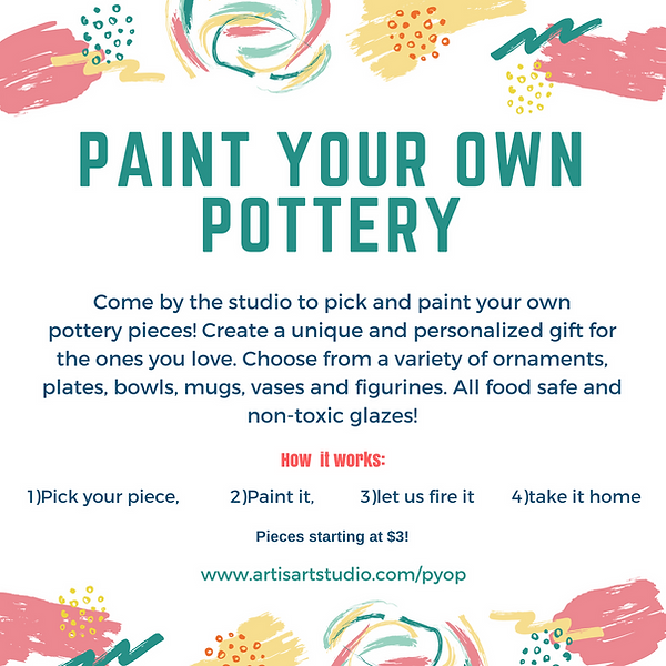 Paint your own pottery AL
