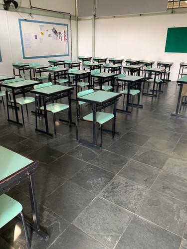 Limpeza Sala de aula