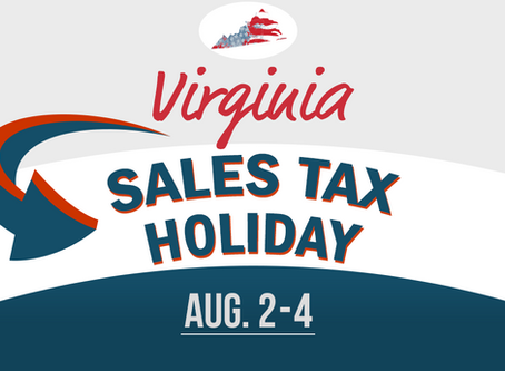 Don't Miss This Year's Sales Tax Holiday
