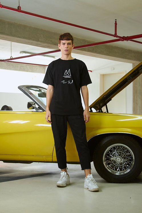 Black Unisex Graffiti T-Shirt