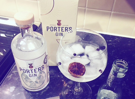Porters Gin 41.5% ABV