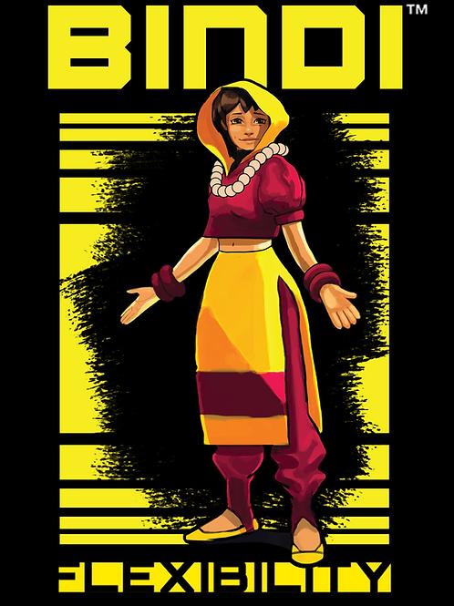 Kinetic 7 Character Poster