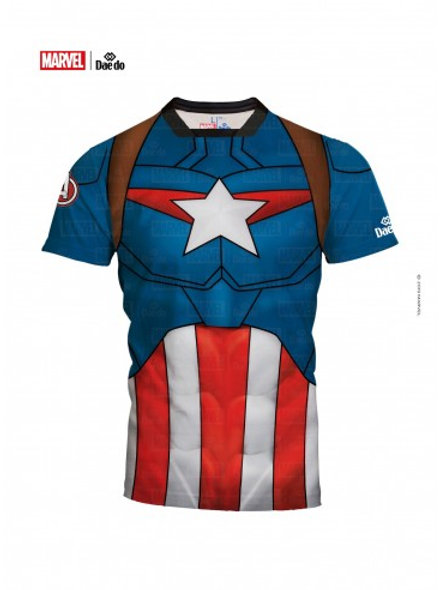 Captain America full print T- shirt