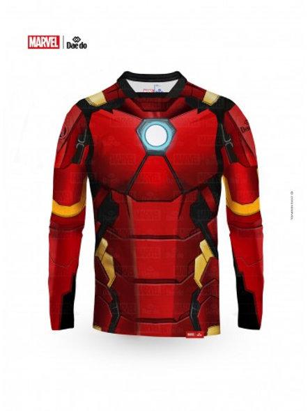 Iron Man Full Print Long Sleeve