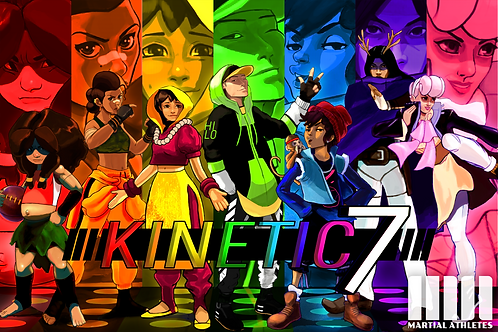 Kinetic 7 Poster (Group)