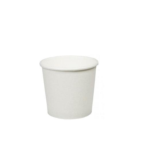 Witte koffiebeker  4oz/100ml  (geschikt voor espresso)