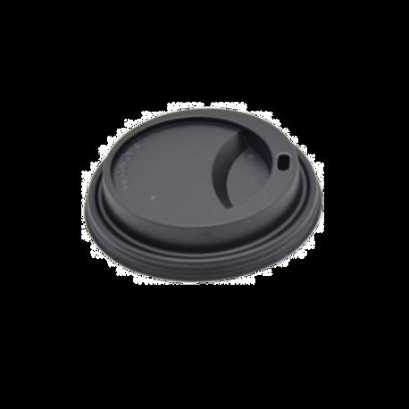 Deksel zwart 10/12/16/20oz/Ø90mm